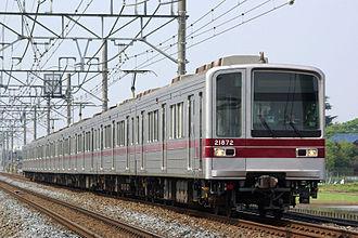 Tokyo Metro Hibiya Line - Image: Tobu 20070