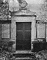 Tomb of November Uprising Paricipants-Veterans at Rakowice Cemetery in Kraków (1906).jpg