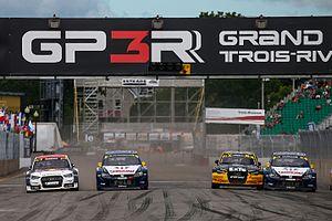 2016 World RX of Canada - Toomas Heikkinen, Johan Kristoffersson, Robin Larsson and Anton Marklund