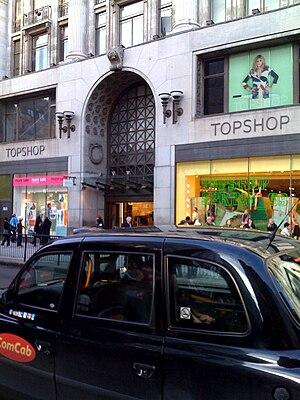 Topshop - Topshop's flagship Oxford Street, London store