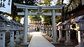 Torii of Shinjo-no-miya Shrine, Hiroshima, Japan.jpg
