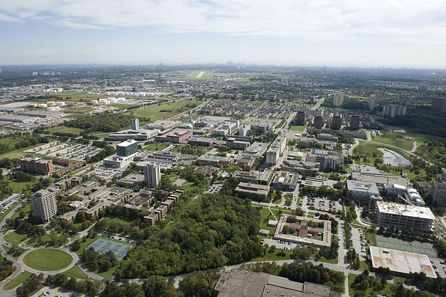 York University By The City of Toronto from Toronto, Canada (Toronto: York University Aerial) [CC BY 2.0 (https://creativecommons.org/licenses/by/2.0)], via Wikimedia Commons