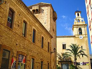 El Verger - Church and tower of El Verger