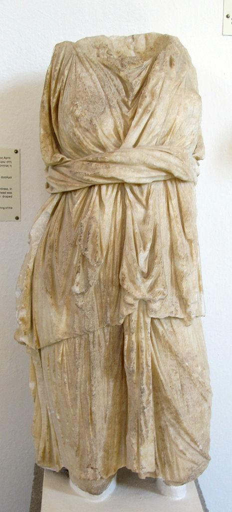 File Torso Di Statuetta Di Artemide Cacciatrice  Fine Del
