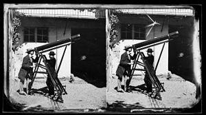 Solar eclipse of July 18, 1860 - Image: Toulouse L'éclipse de La lunette M. Raux (Baux ^) et ... (illisible) coll. humide Fonds Trutat MHNT.P Ha.814.105