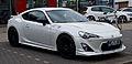 Toyota GT86 – Frontansicht, 11. August 2013, Wuppertal.jpg