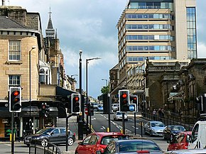 Traffic lights, Kings and Crescent Roads, Harrogate - geograph.org.uk - 849804.jpg