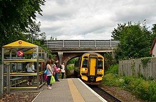 Beauly railway station Railway station in Highland, Scotland