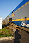 Trainspotting VIA -55 from Kingston headed by GE P42DC -913 (8123569962).jpg