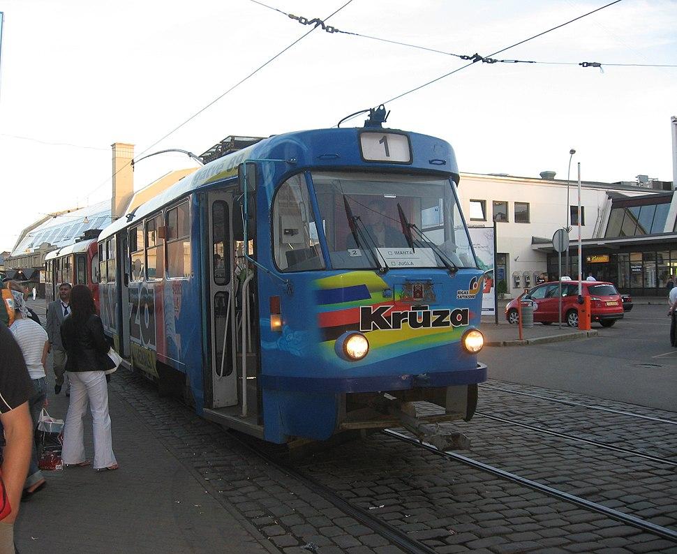 Tramvaj v Rize