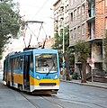 Tramway in Sofia in Alabin Street 2012 PD 016.jpg