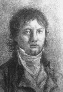 Max Eberwein um 1803, Kreidezeichnung von Carl Wilhelm Ludwig Bianchi (Quelle: Wikimedia)