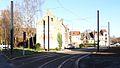 Travaux de la branche vers Vieux-Condé de la ligne B du tramway de Valenciennes en décembre 2013 (239).JPG