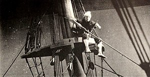 Treasure Island (1920 film) - image of a pirate on lookout