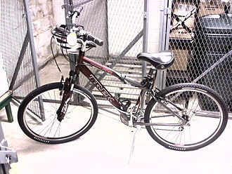 Hybrid bicycle - Trek Navigator 200 comfort bike