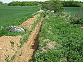 Trench beside footpath - geograph.org.uk - 1302894.jpg