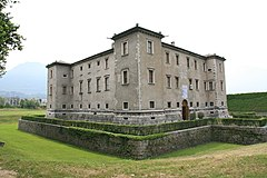 Palazzo delle Albere, formerly the Summer residence of the Prince-Bishop