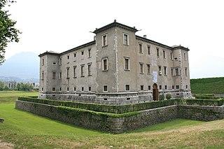 building in Trento, Italy