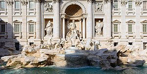 image of Trevi fountain 2015