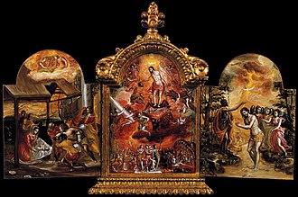 Modena Triptych - Image: Triptico de Modena El Greco