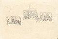 Trois études d'après Henri III et sa cour d Alexandre Dumas avec un plan de scène-Paul Delaroche-MBA Lyon 2014.jpeg