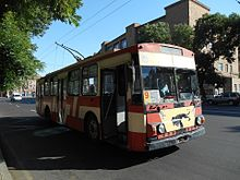 Trolley Bus in Yerevan, Armenia 01.jpg