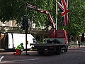 Trooping the Colour Preparation Traffic Light.JPG