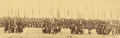 Troops Carrying Flags in Military Formation, Preceded by Four Cannons. Gansu Province, China, 1875 WDL1912 (cropped).png