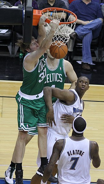 Murphy im Dress der Celtics