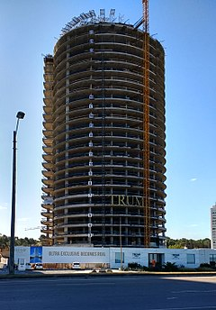 Trump Tower Punta del Este, under construction in April 2017.jpg