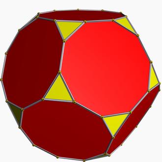 Small retrosnub icosicosidodecahedron - Image: Truncated dodecahedron