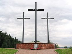 Mass graves at Katyn