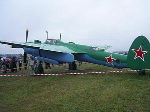 Tupolev Tu-2 - Image: Tu 2