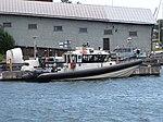 Tullin pikavene Suomenlinnassa.JPG