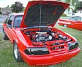 Tuned Ford Mustang Coupe (Auto classique Combos Express '12).JPG