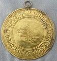 Turchia, osman III, moneta d'oro, 1754-1757.JPG