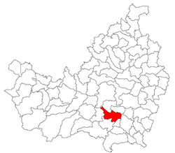 Location of Tureni