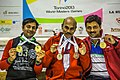 Turin, Italy…2013 WMG medal presentations…the proud Panvalkar family show off their medals… Sachin, Mukund and Parag (10830983805).jpg