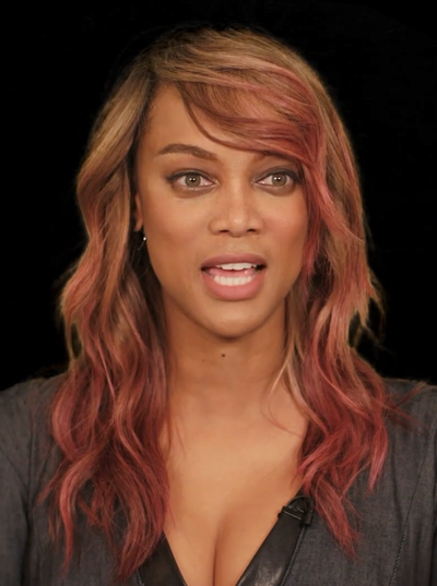 Tyra Banks, American television personality, producer, businesswoman, actress, author, former model