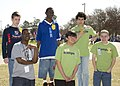 U.S. Special Olympic athletes are the receipient of awards presented, during the Special Olympics, on Fort Gordon, Ga., Mar 100324-A-NF756-018.jpg