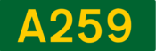 A259 road shield