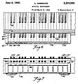 US2203569A Musical Instrument (1940-03-08 filed, 1940-06-04 published) by Laurens Hammond - Solovox Fig6, 7.jpg