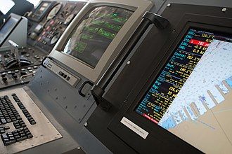 Keeper-class cutter - Some of the controls and displays of the USCG Coastal Buoy Tender Katherine Walker (WLM-552)