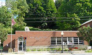 Susquehanna Depot, Pennsylvania - Post Office on Main Street