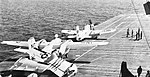 USS Bennington (CVS-20) launches AD-5W and S2F-1 aircraft in 1962.jpg
