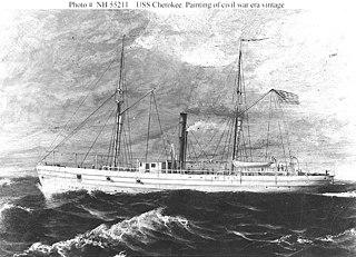 1859 steam gunboat