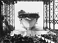 USS Enterprise (CV-6) clears the ways.jpg