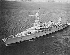 Американский крейсер «Хьюстон»