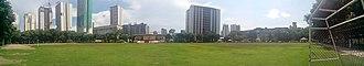 University of Santo Tomas Field - Image: UST Field panorama