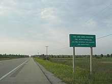 US Route In Michigan Wikipedia - Us 23 michigan map
